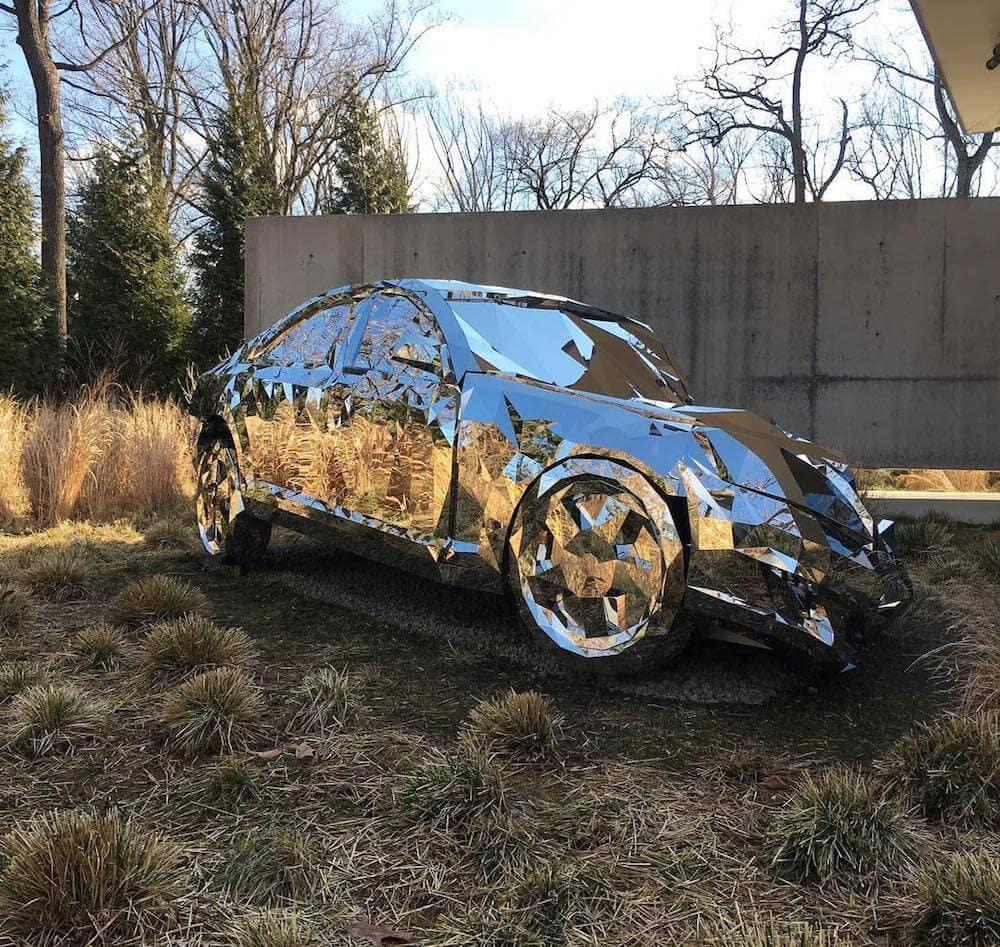 reflective luxury car Jordan griska fy 4