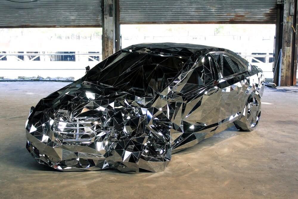 reflective luxury car Jordan griska fy 5