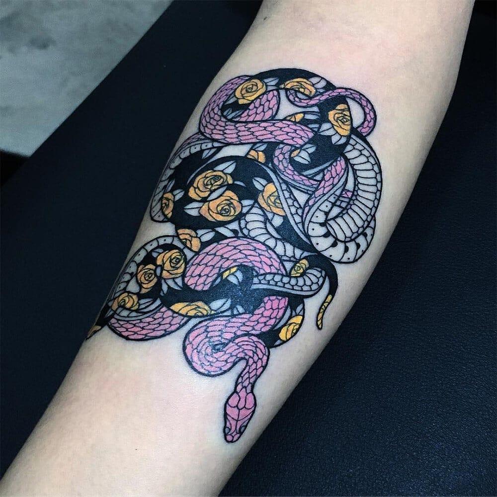 serpentine tattoos mirko sata fy 5