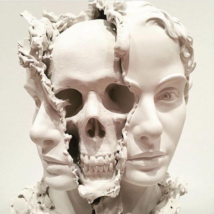 skull art taiji taomote fy 1
