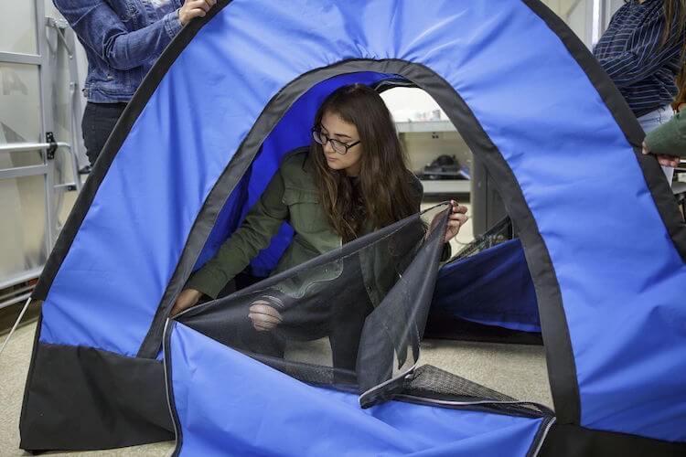 solar powered tent diy girls fy 1