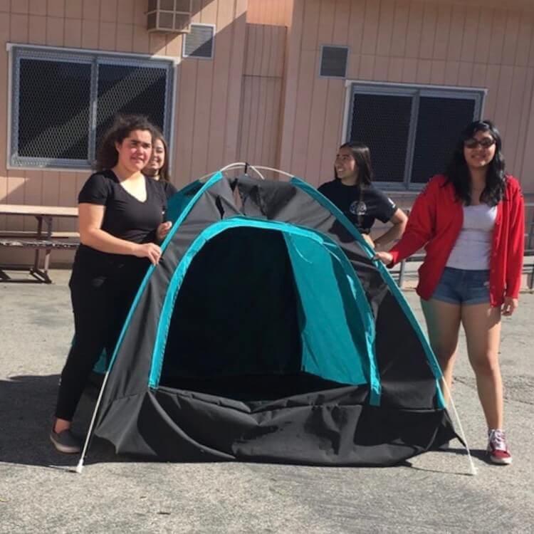 solar powered tent diy girls fy 10