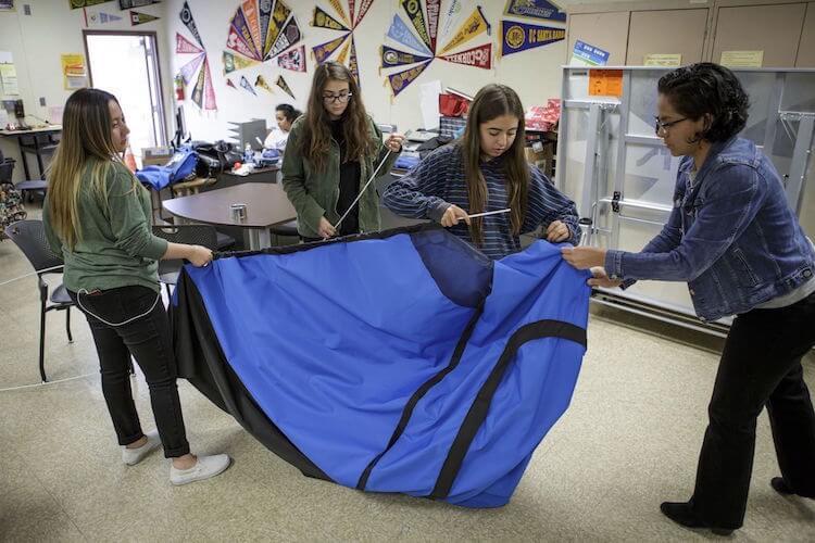 solar powered tent diy girls fy 9