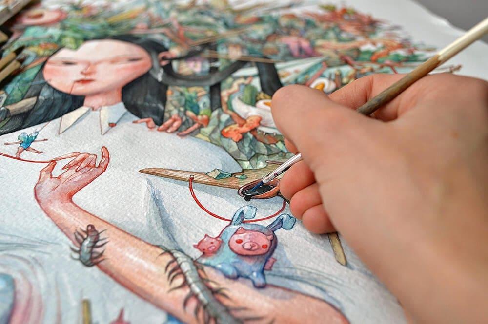 watercolor illustrations marija tiurina fy 2