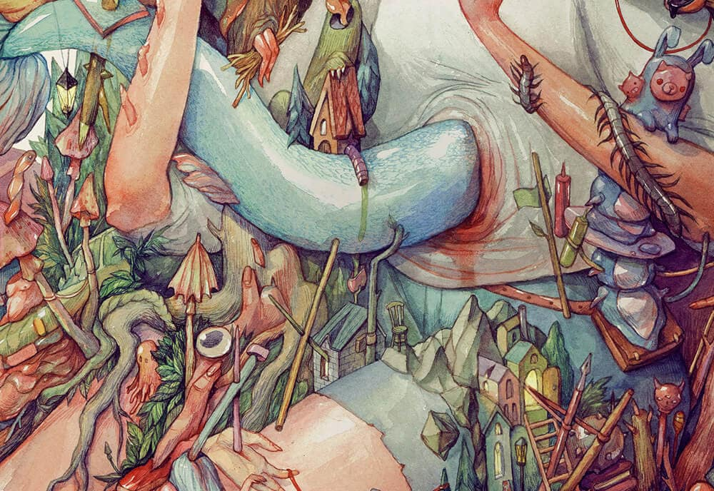 watercolor illustrations marija tiurina fy 3