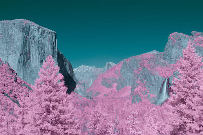 yosemite infrared photography fy 12