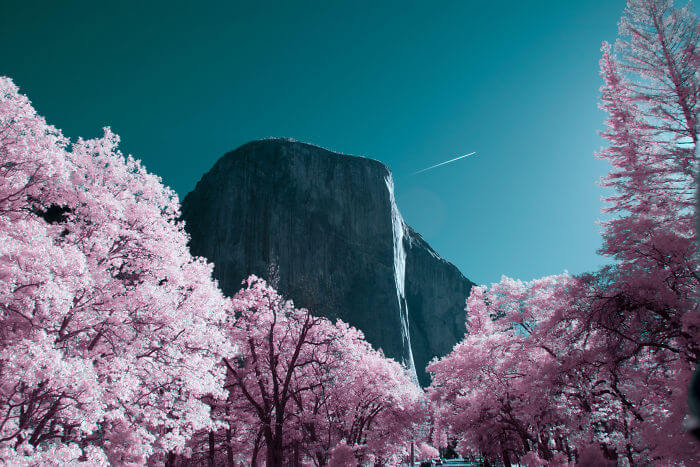 yosemite infrared photography fy 4