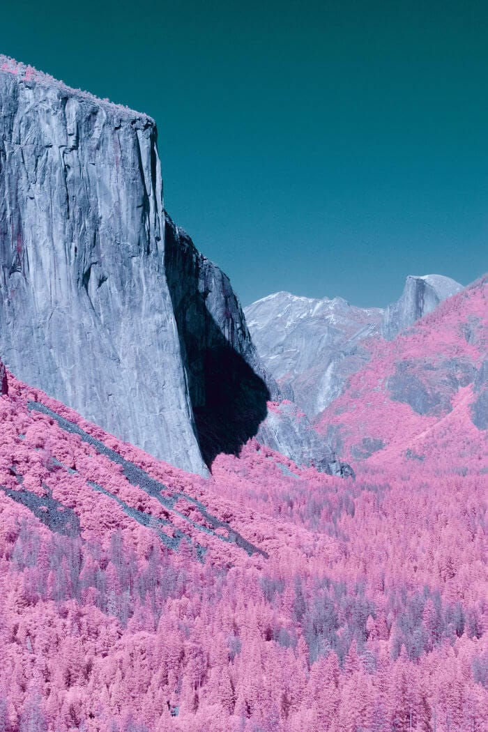 yosemite infrared photography fy 7