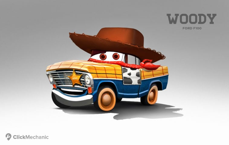 1 Woody Ford F100 1