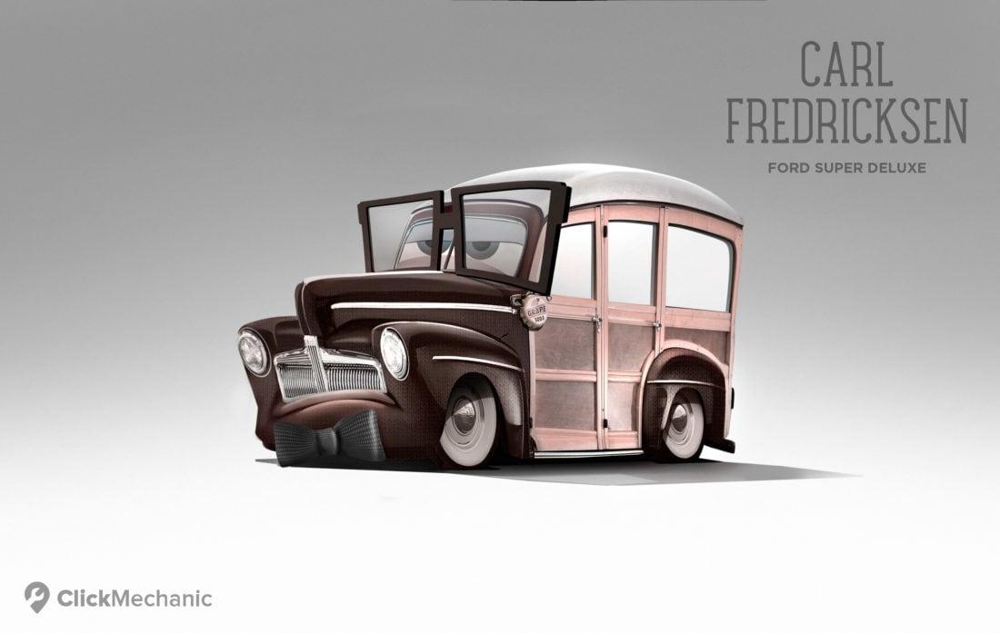 6 Carl Fredriksen Ford Super Deluxe