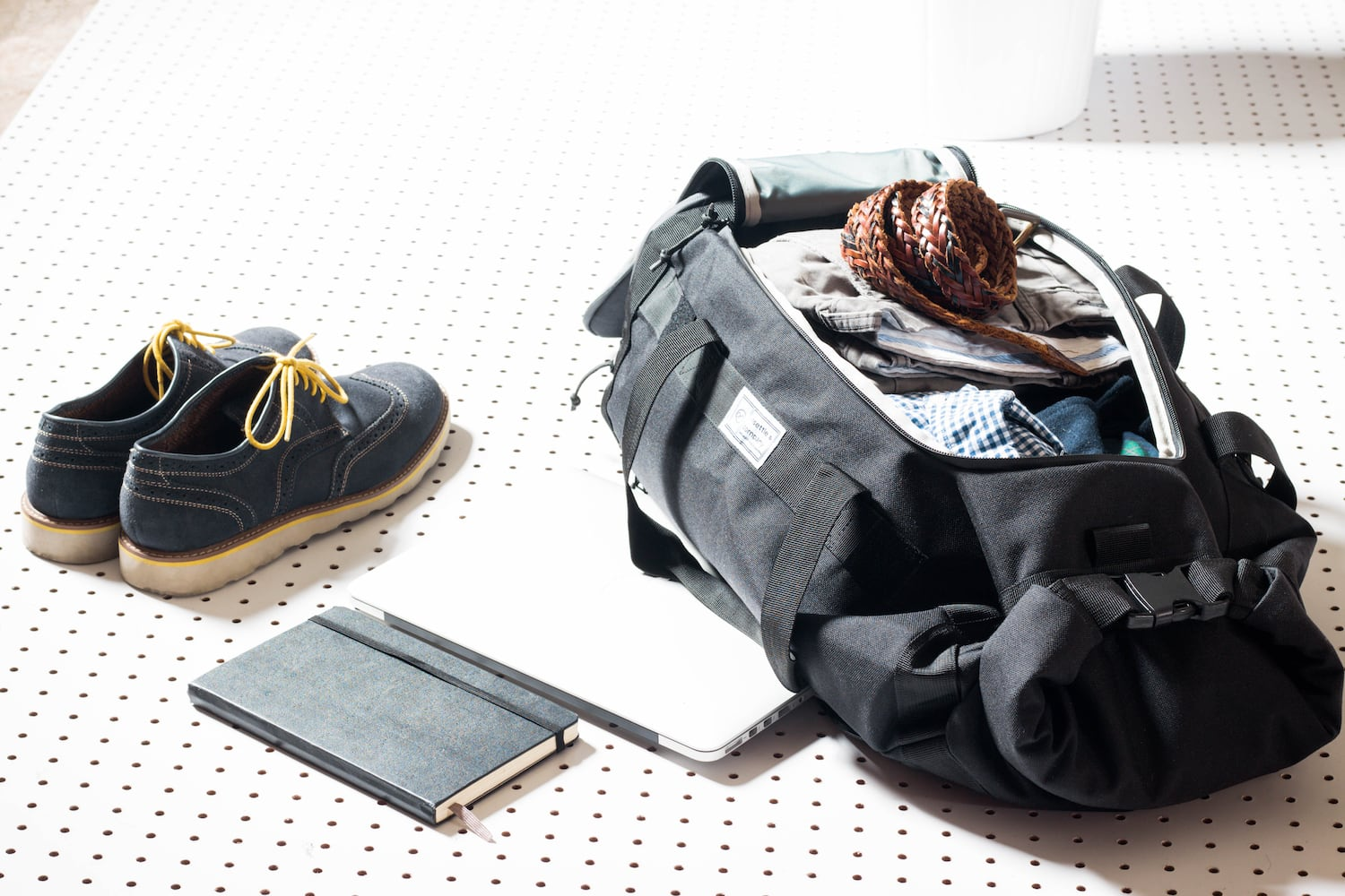 Commuter Duffle Pack Office Use