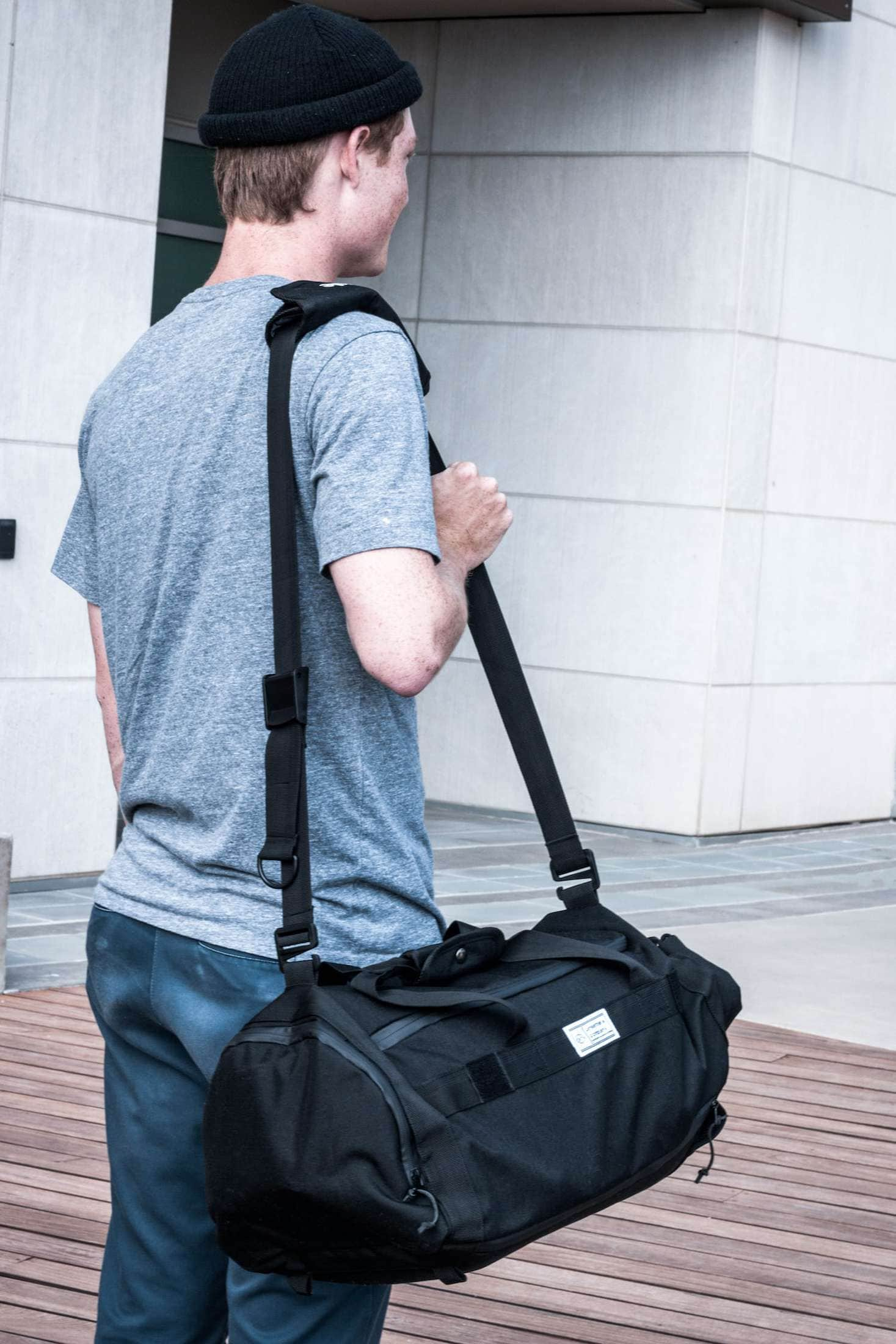 Commuter Duffle Pack Over The Shoulder