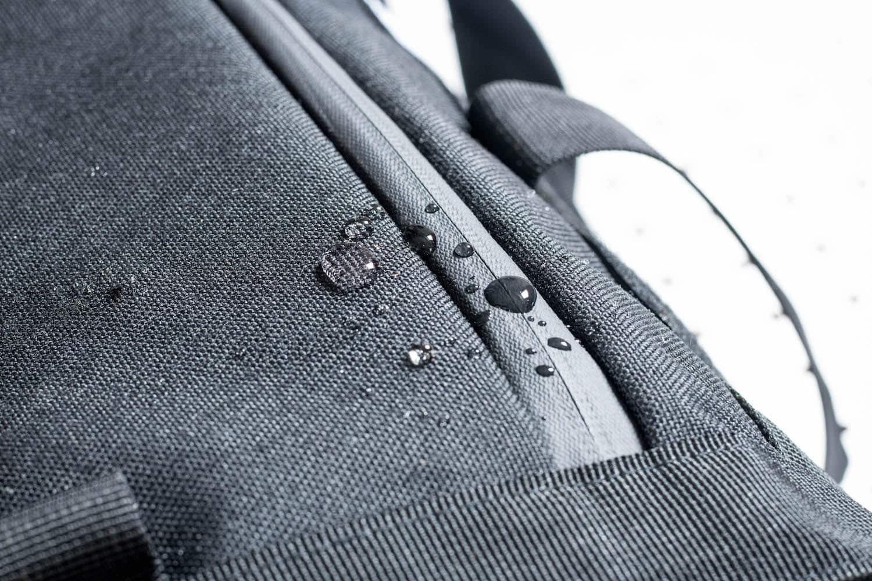 Commuter Duffle Pack Zipper Close Up
