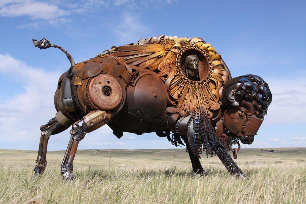 animal sculptures john lopez fy 1