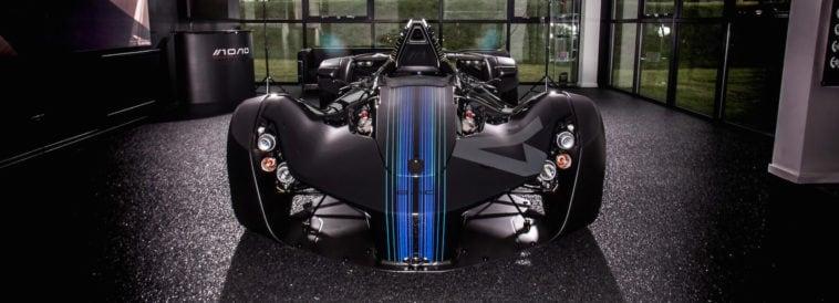bac mono single seater car fy 1