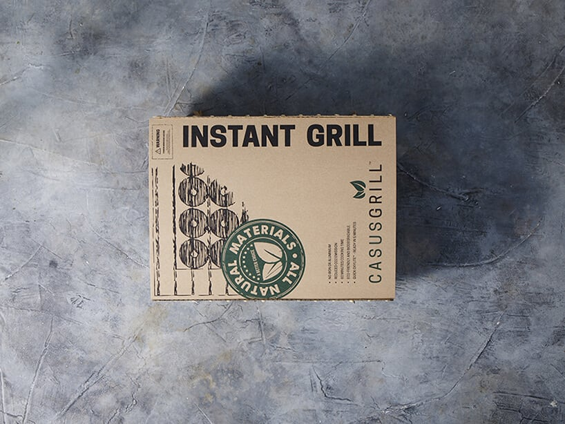 casusgrill sustainable disposable grill fy 1