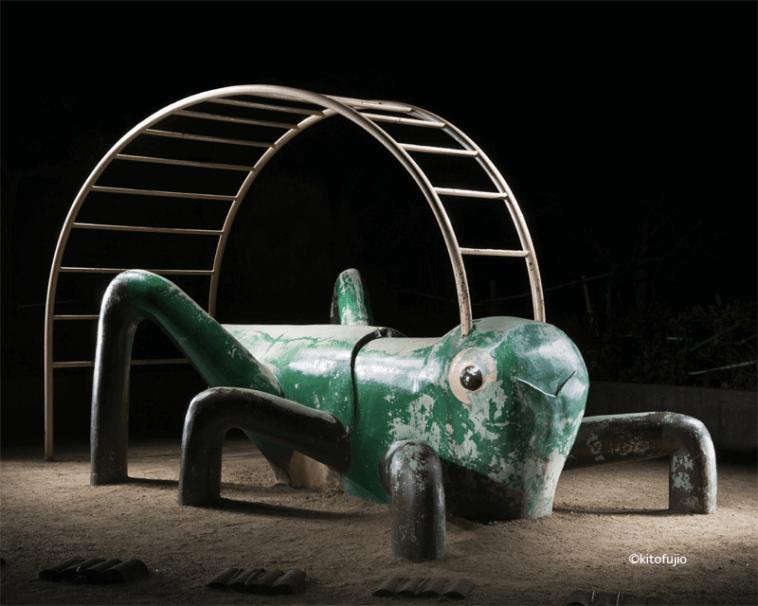 japanese playground equipment at night kito fujio fy 1