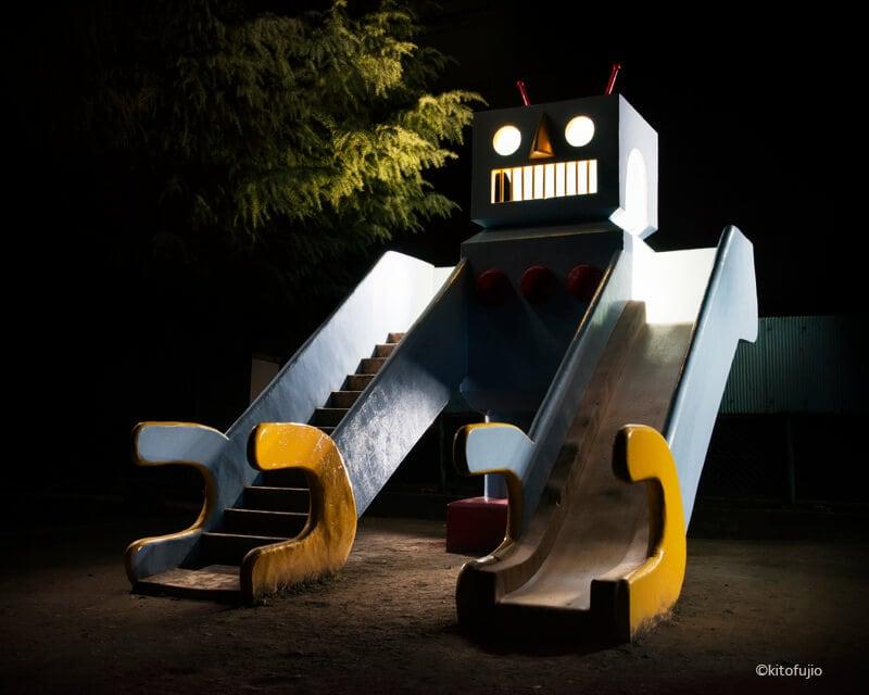 japanese playground equipment at night kito fujio fy 2