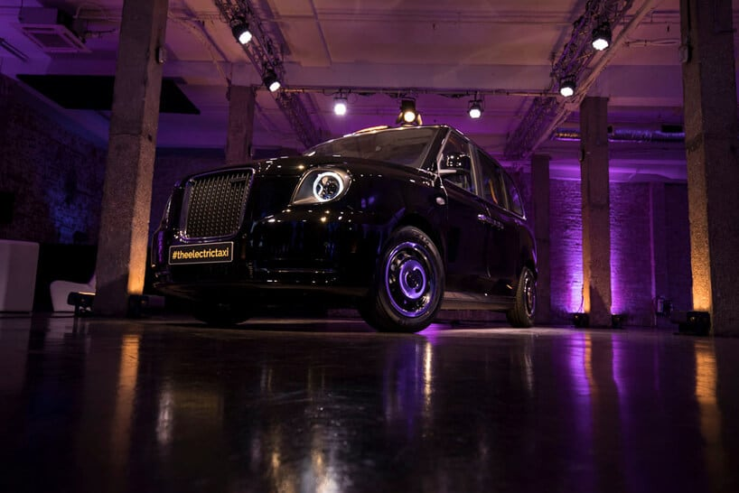 london electric vehicle company electric taxi fy 3