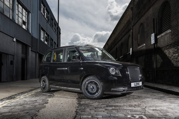 london electric vehicle company electric taxi fy 7