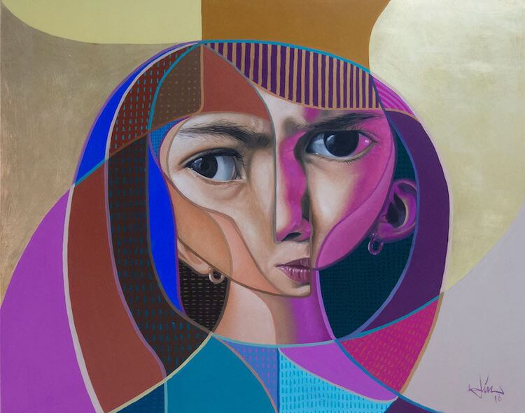 neo post cubism portraits belin fy 12