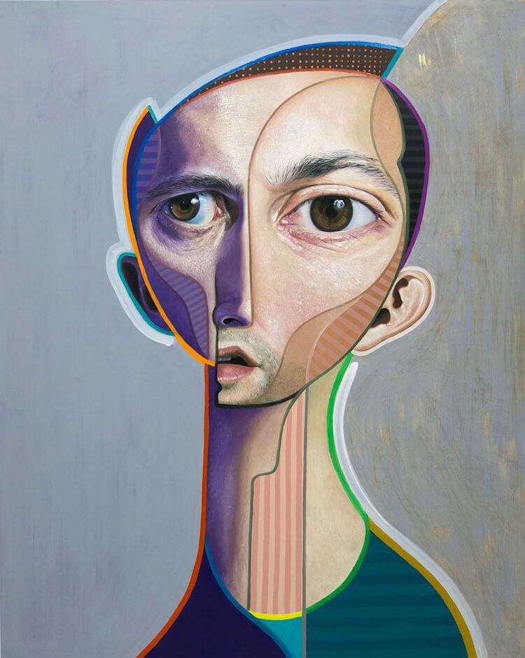neo post cubism portraits belin fy 13