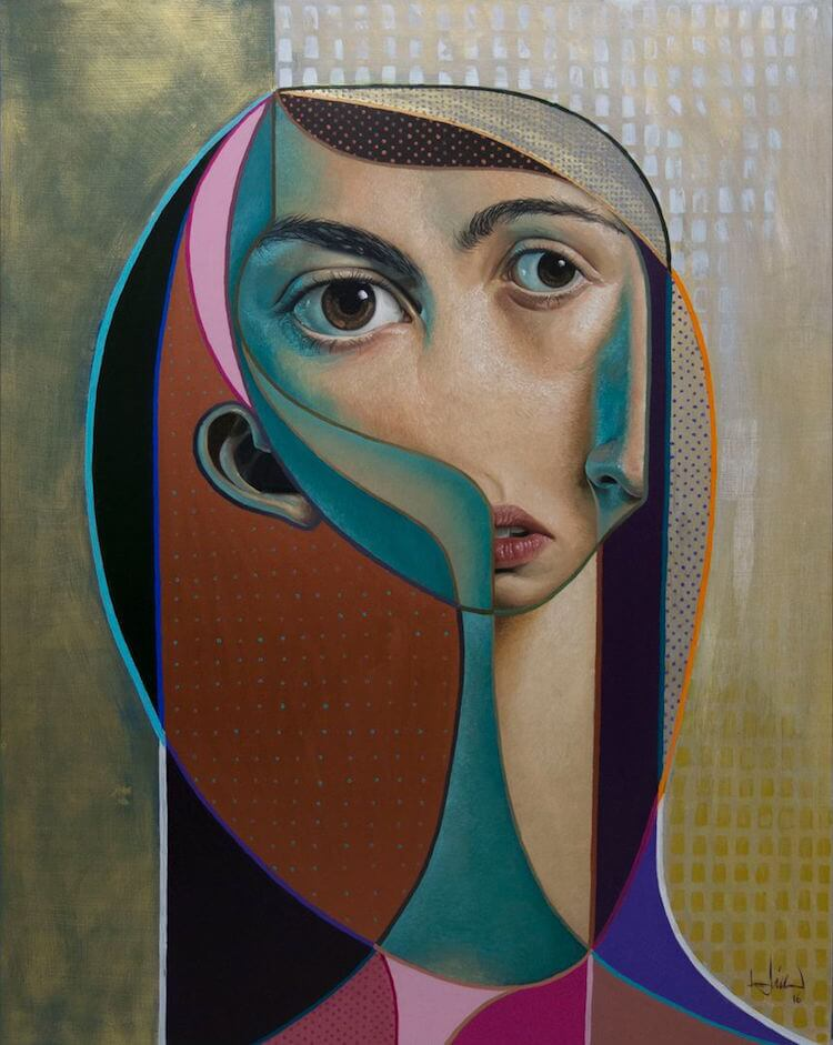 neo post cubism portraits belin fy 14