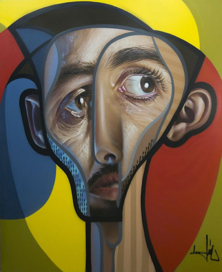 neo post cubism portraits belin fy 15