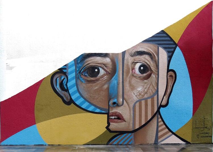 neo post cubism portraits belin fy 4