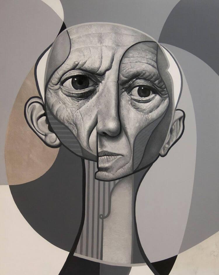 neo post cubism portraits belin fy 5