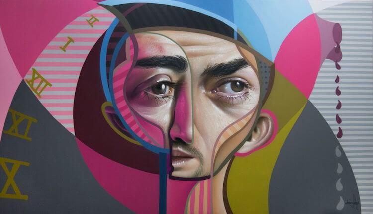 neo post cubism portraits belin fy 7