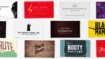 pop culture business cards hero