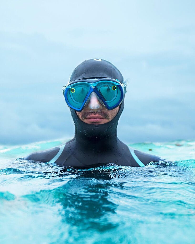 snapchat underwater goggles fy 2