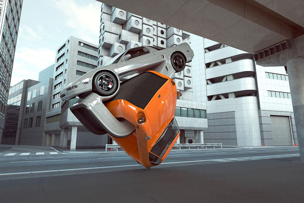 warped and contorted car designs chris labrooy fy 1