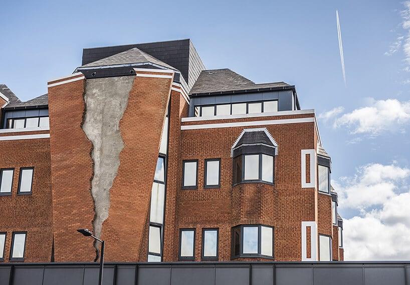 alex chinneck broken brick facade fy 1