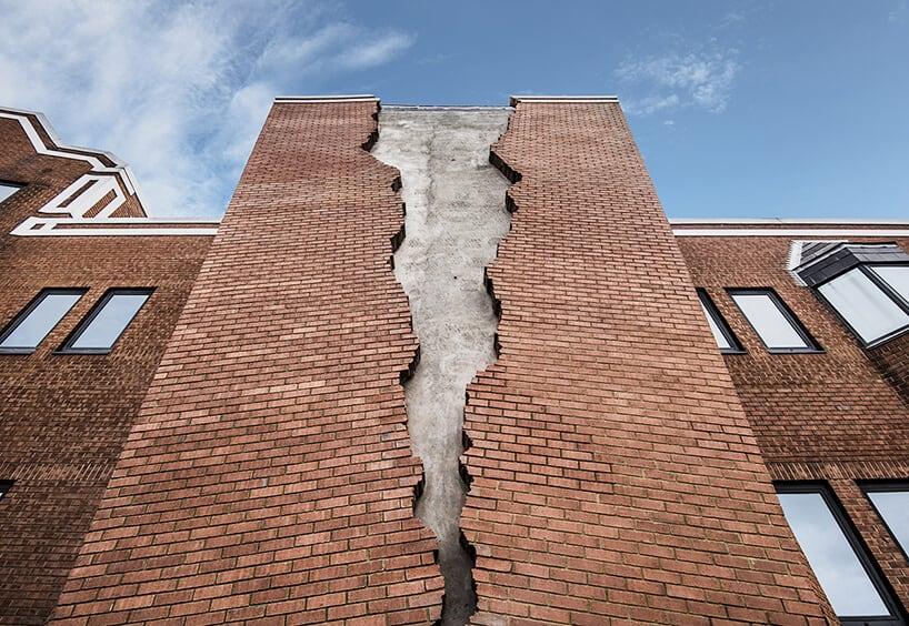 alex chinneck broken brick facade fy 3