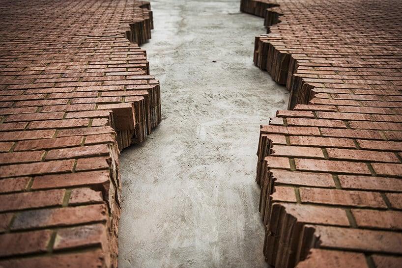 alex chinneck broken brick facade fy 5