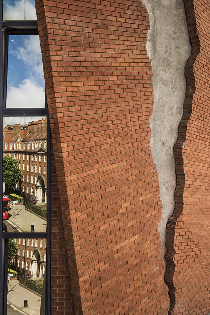 alex chinneck broken brick facade fy 6