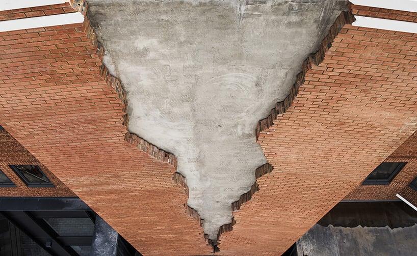 alex chinneck broken brick facade fy 7