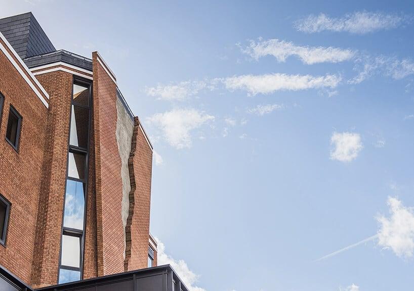 alex chinneck broken brick facade fy 9