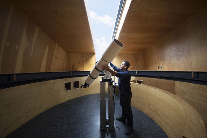 anmahian winton architects private astronomical gemma observatory fy 4