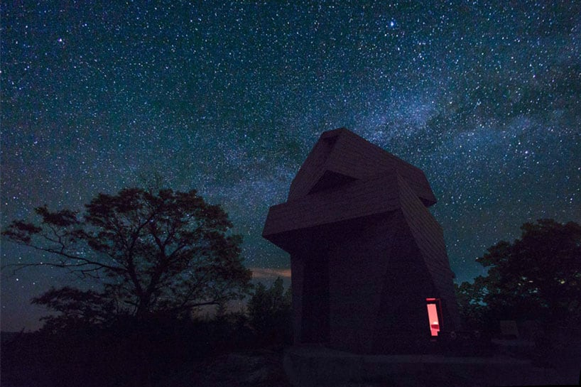 anmahian winton architects private astronomical gemma observatory fy 6