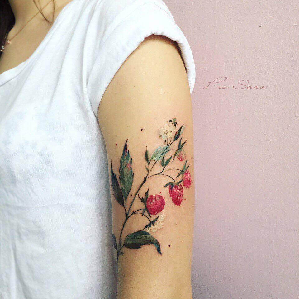 botanical tattoos pis saro freeyork 1