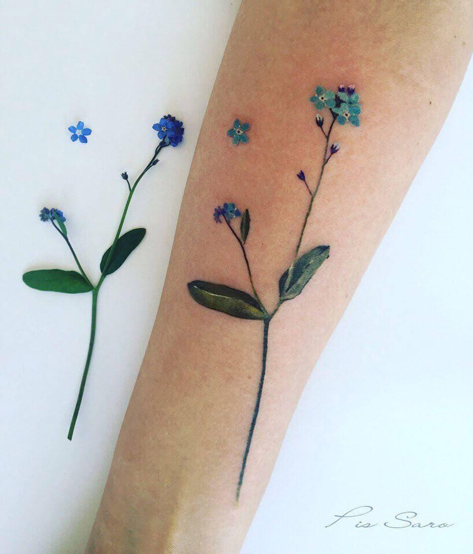 botanical tattoos pis saro freeyork 2