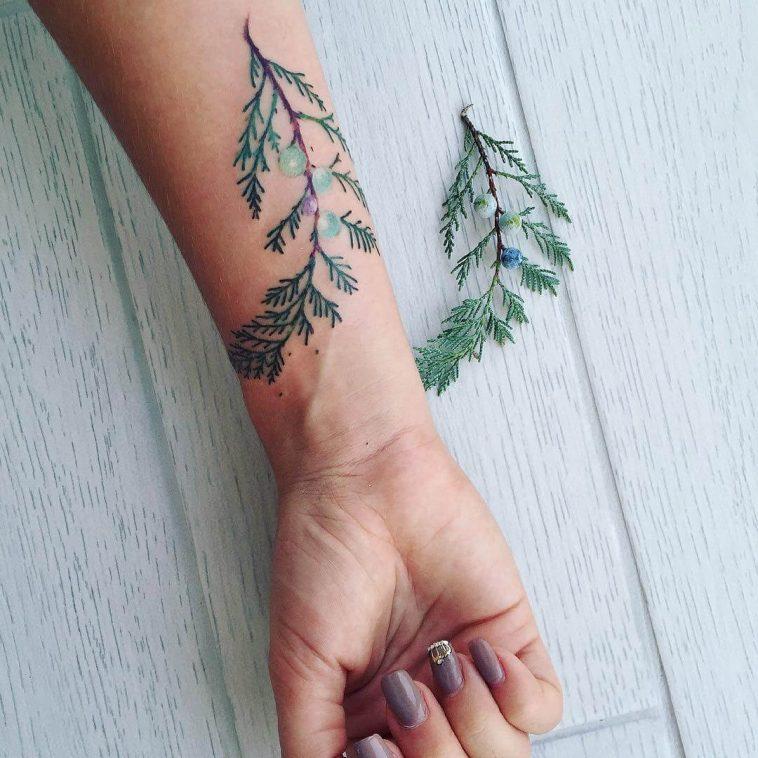 botanical tattoos pis saro freeyork 8