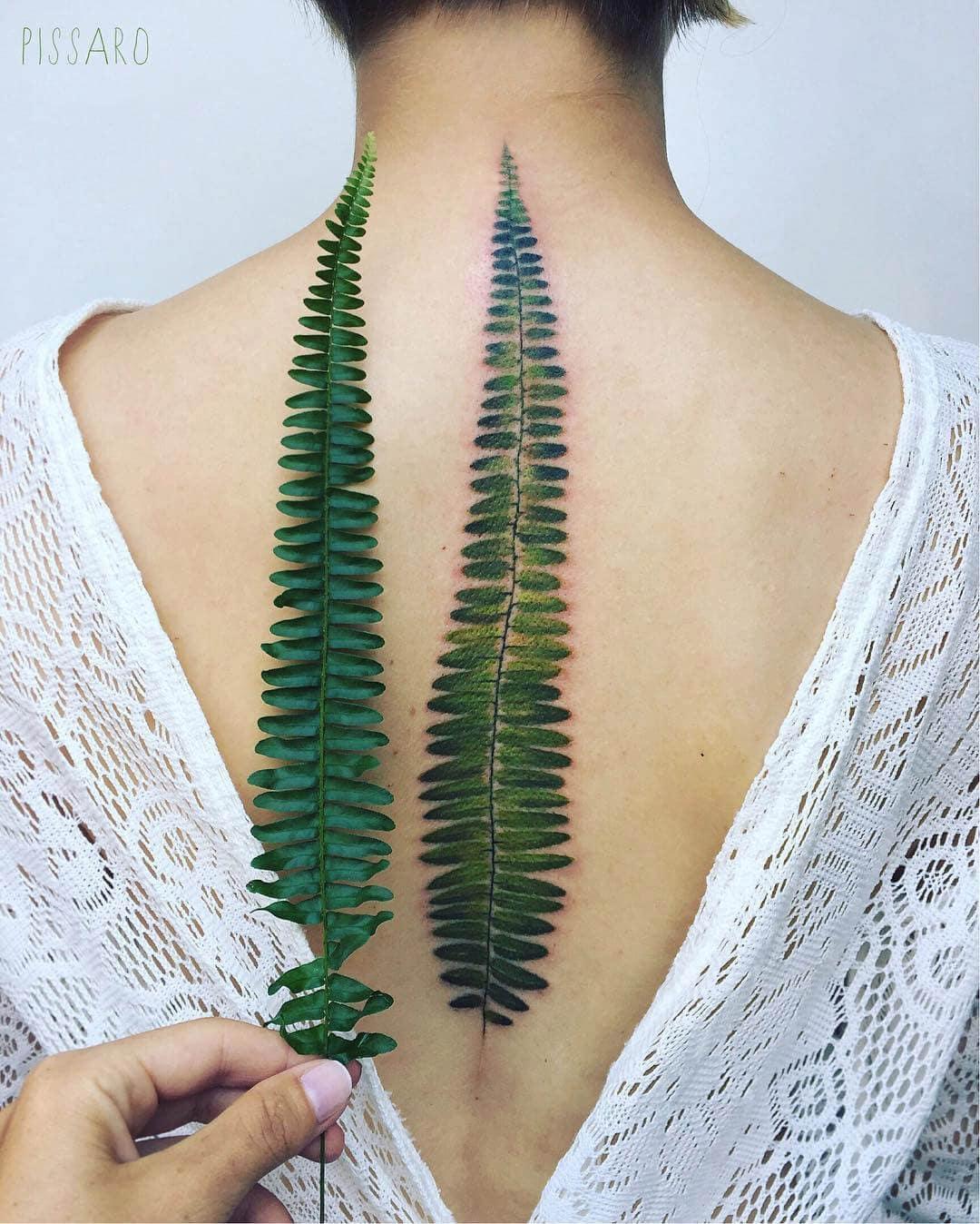 botanical tattoos pis saro freeyork 9