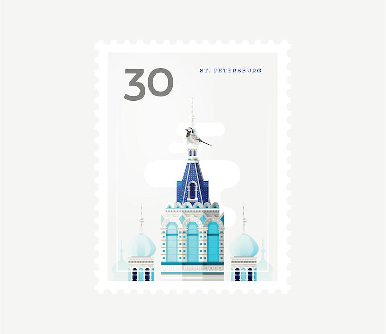 city stamps elen winata freeyork 2