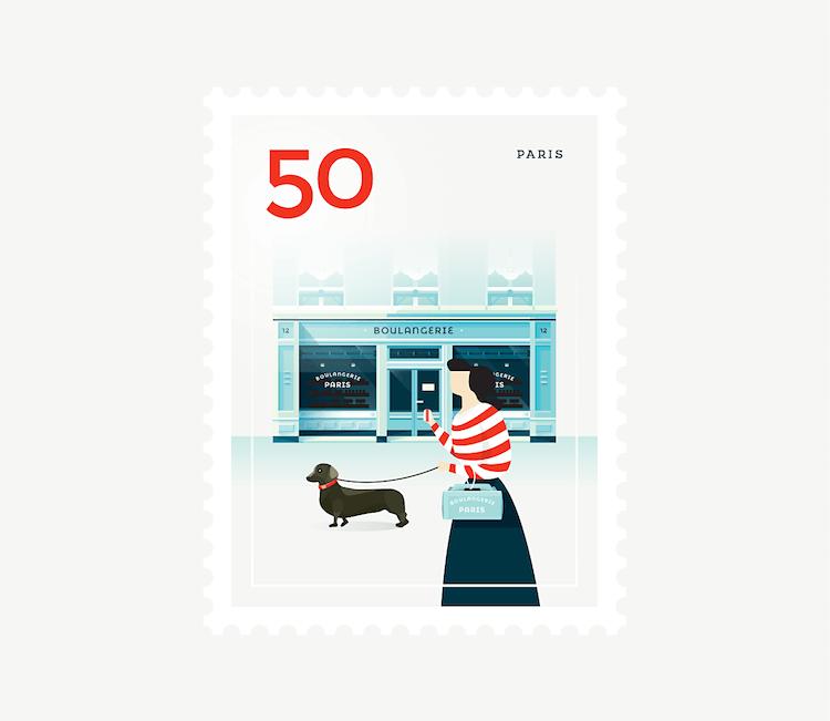 city stamps elen winata freeyork 7