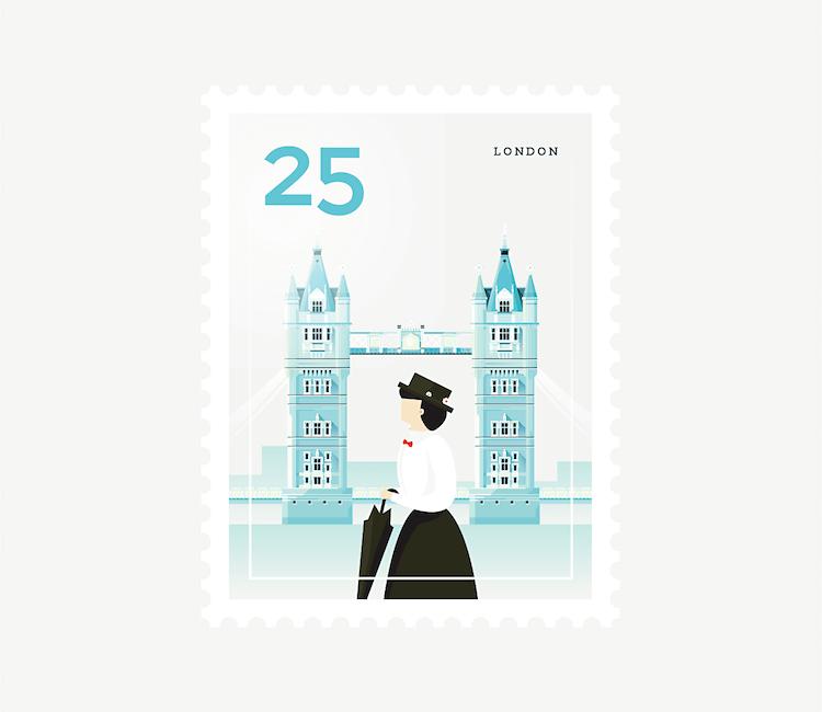 city stamps elen winata freeyork 8