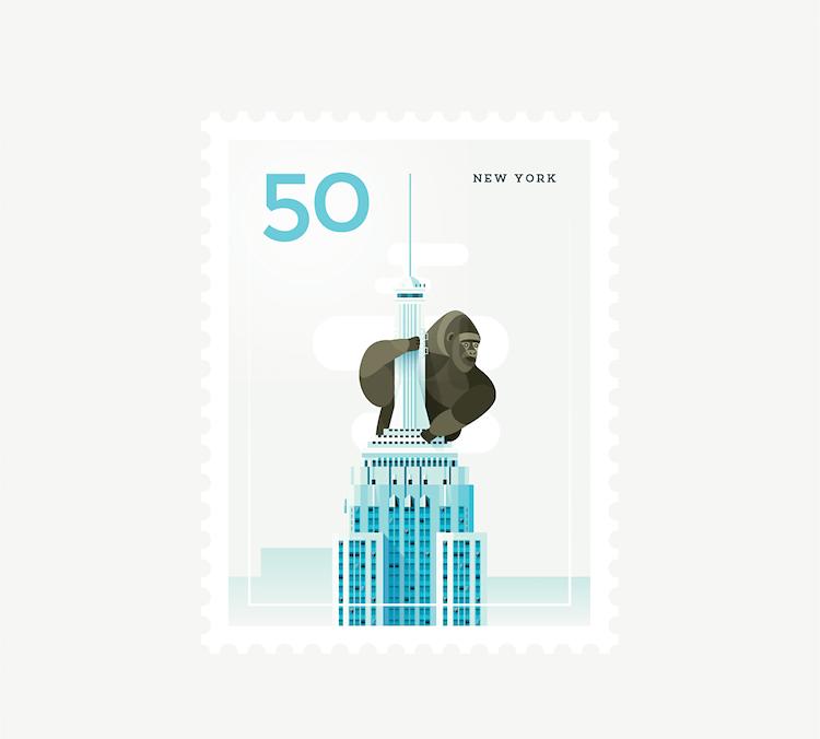 city stamps elen winata freeyork 9